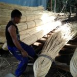 Technic to make rattan bundle