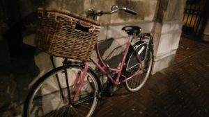 rattan bike basket