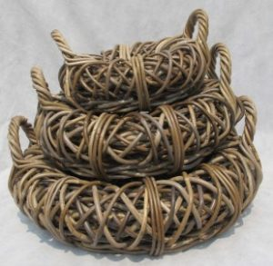 Rattan grey kubu - kobo - kooboo baskets