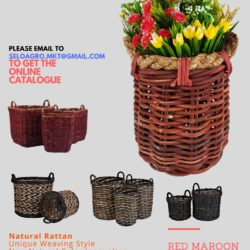 Rattan Wicker Basket 2018