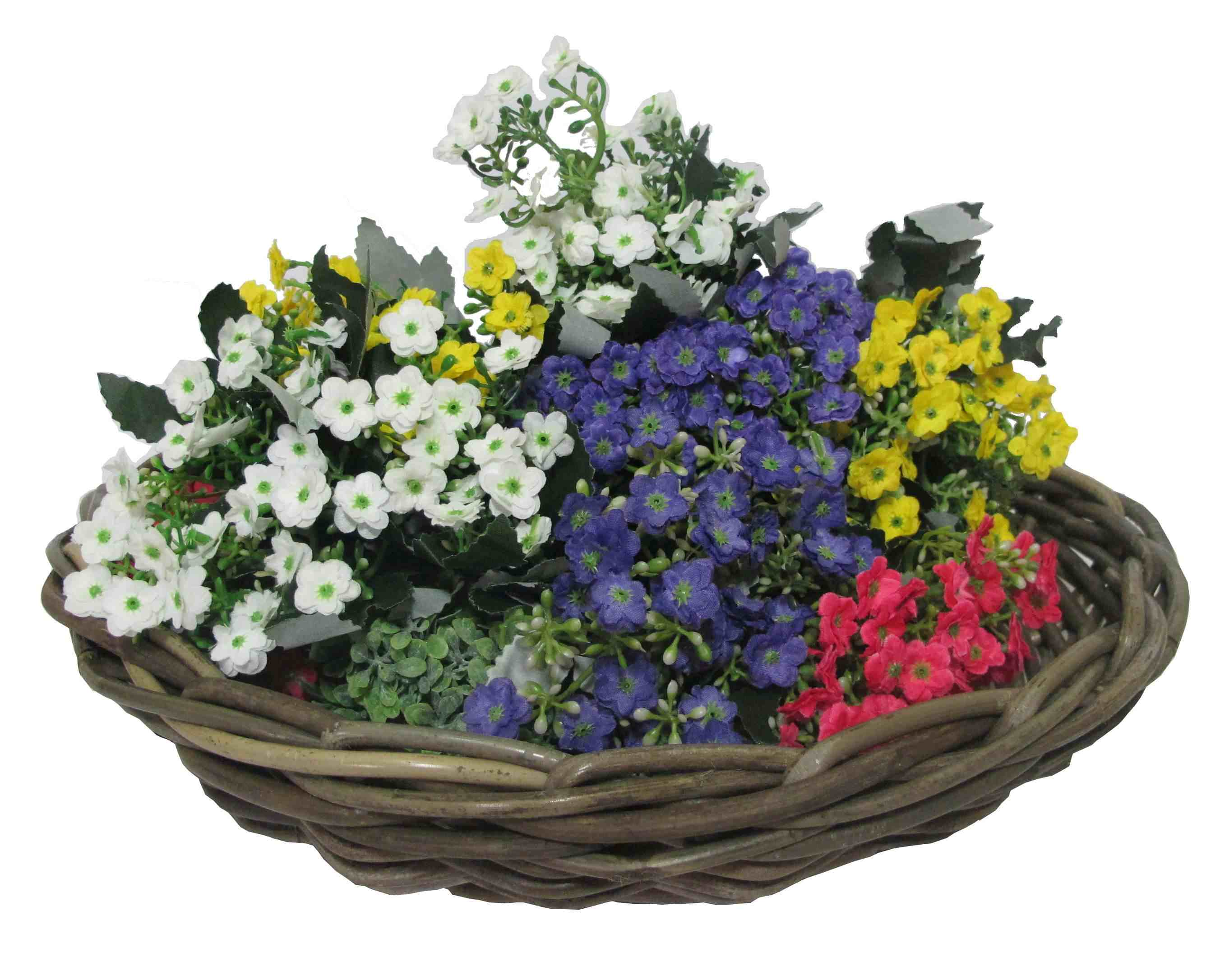 Rattan Flower Baskets : Supplier manufacturer and exporter of rattan wicker