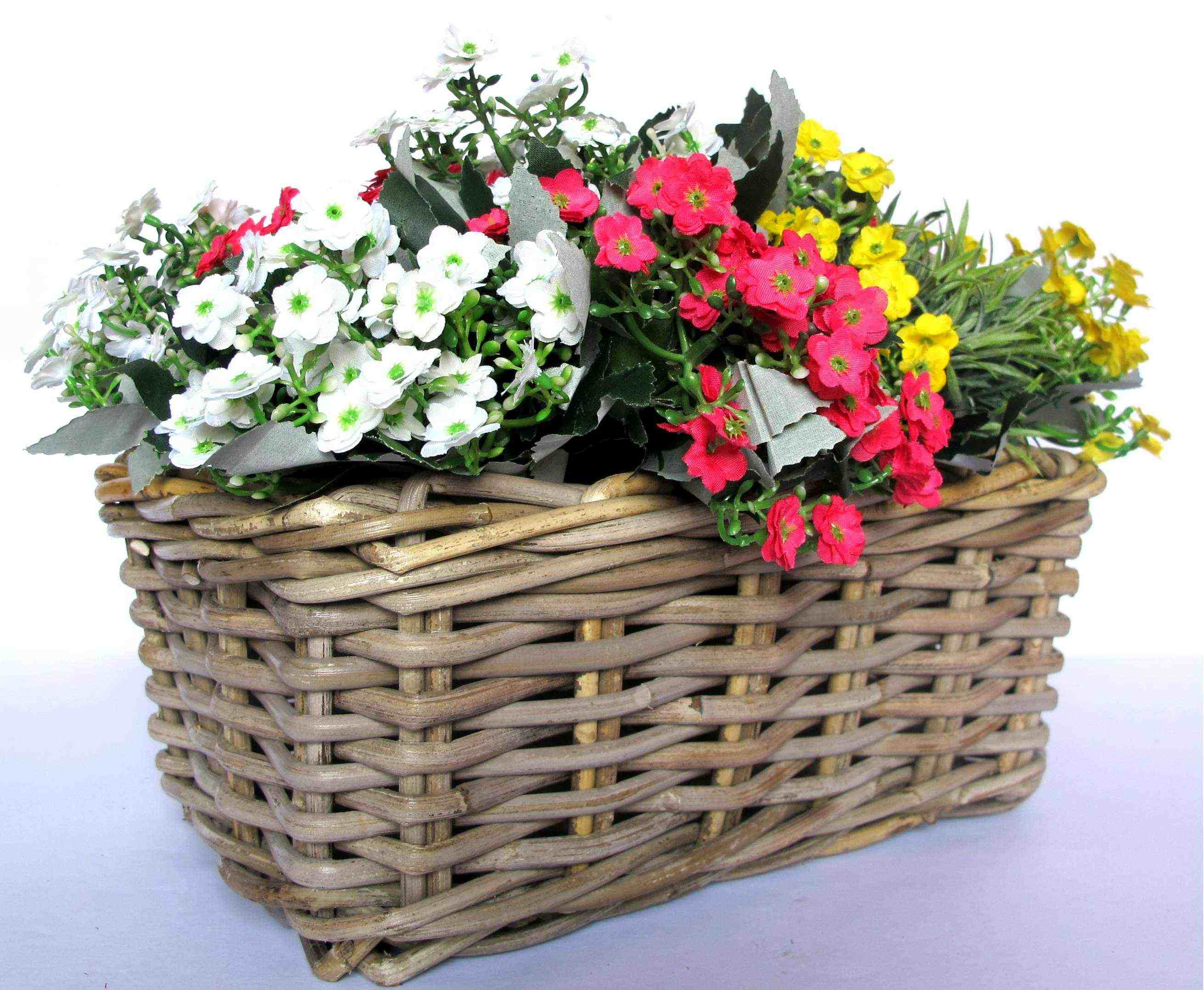 Rattan Flower Baskets : Floral baskets images basket flower arrangement
