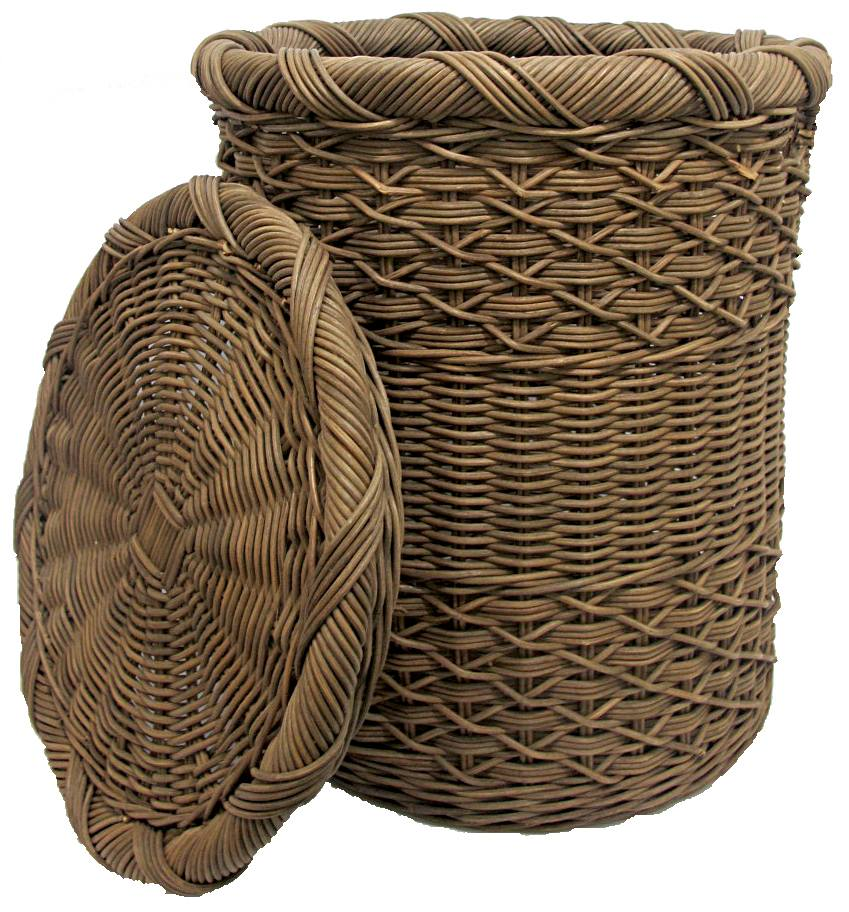 rattan wicker laundry baskets