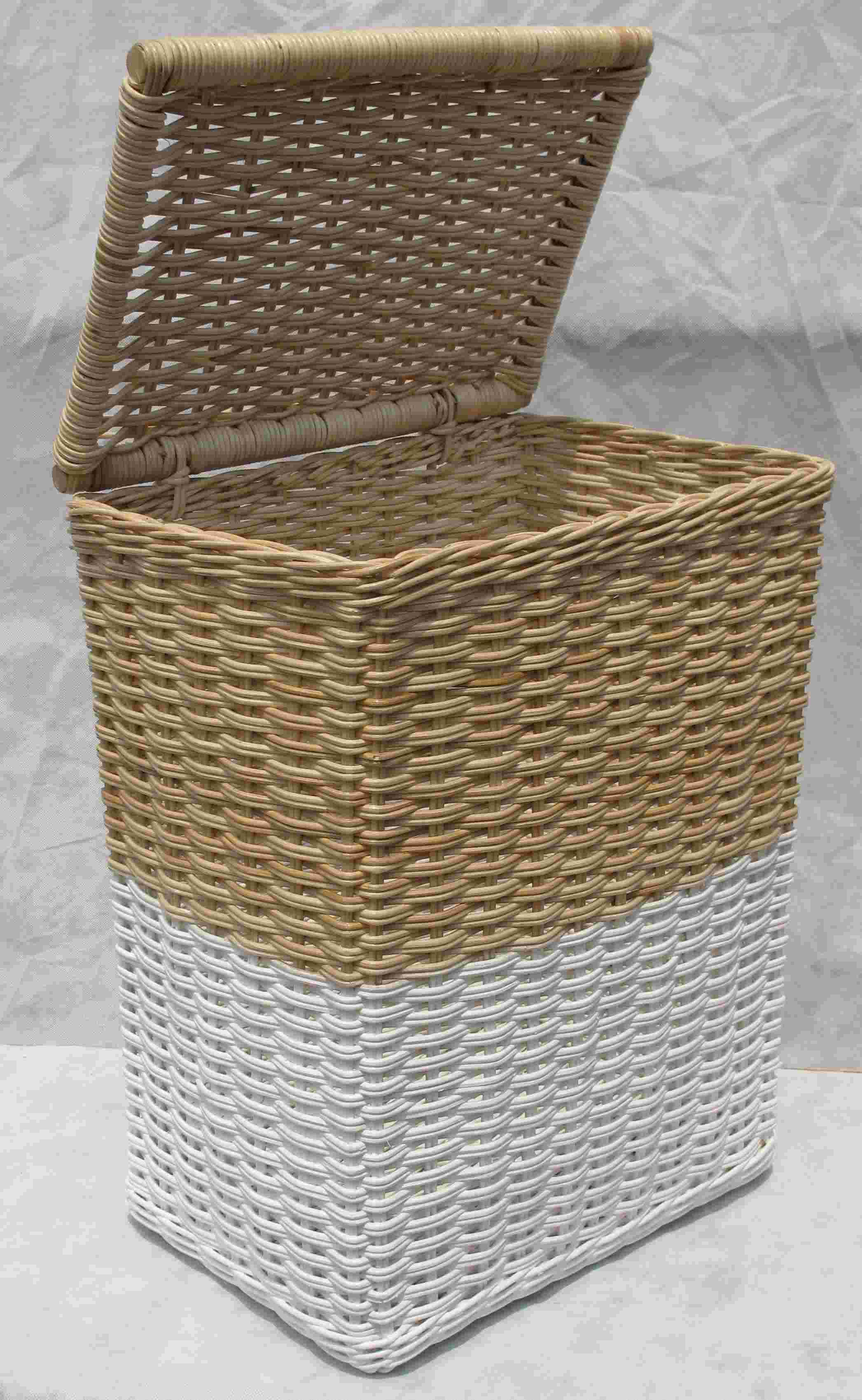 rattan wicker laundry baskets with lid